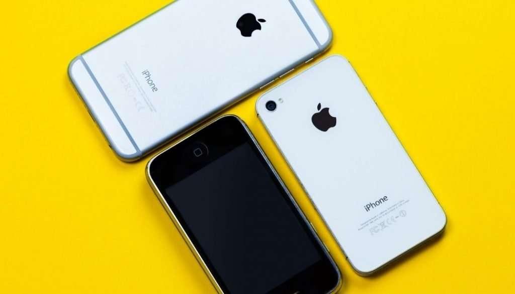 iPhone Generationen
