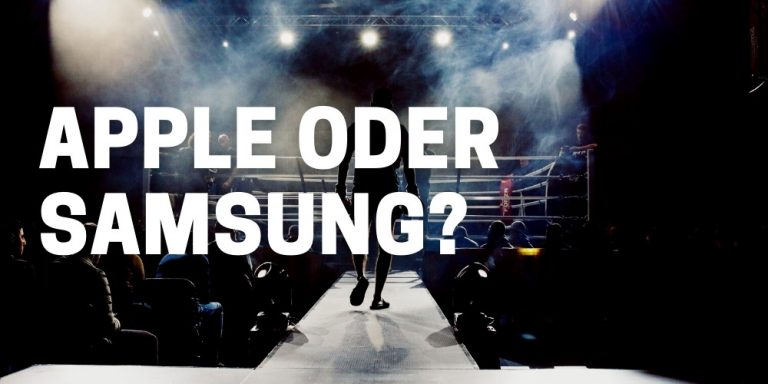 Apple oder Samsung