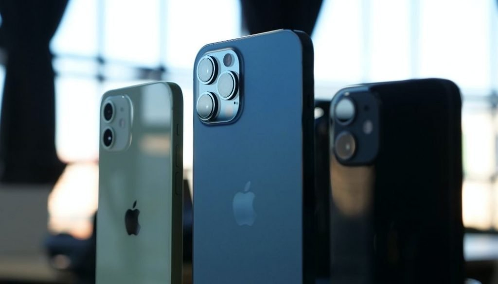 iPhone 12 Größenvergleich