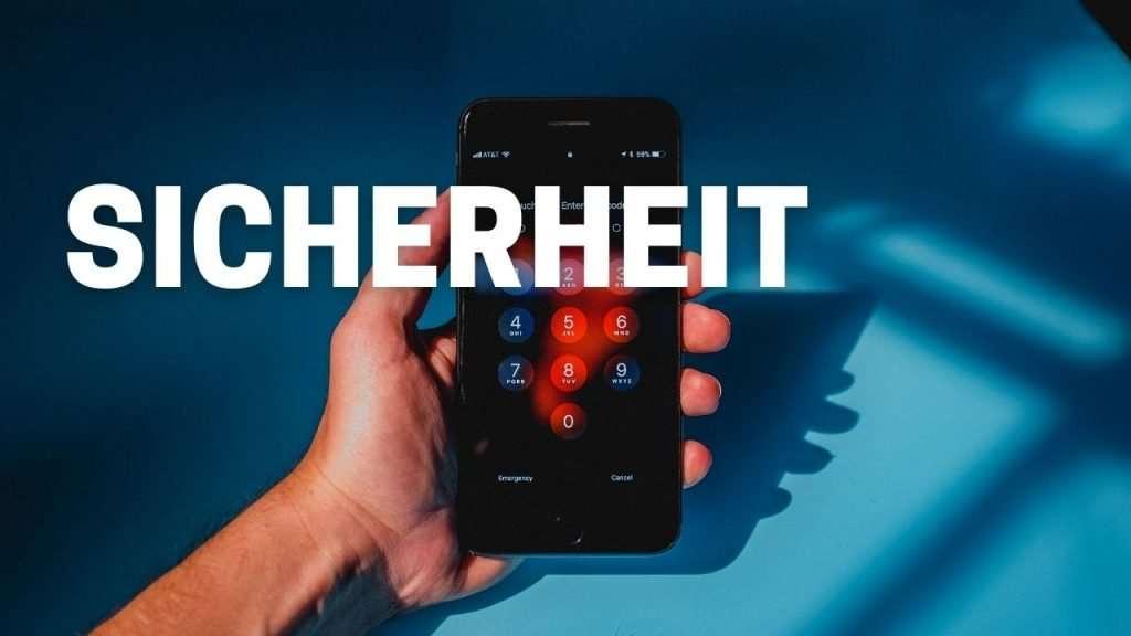 iPhone oder Samsung - Sicherheit